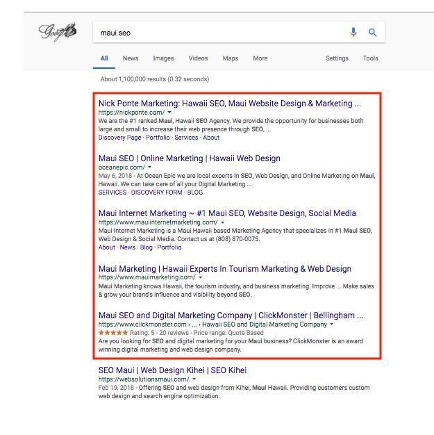 Seo Discovery Page E Edge Marketing Local Small Business Internet Marketing Charleston Sc 843 647 0489