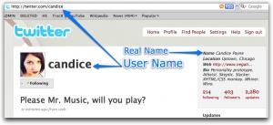 Twitter User Name