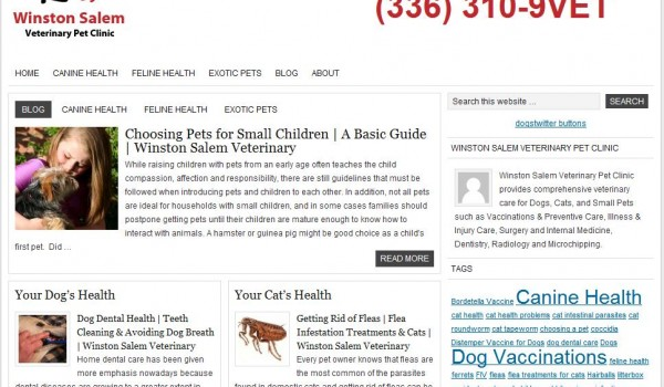 Veterinary Websites for Clinics & Animal Hospitals