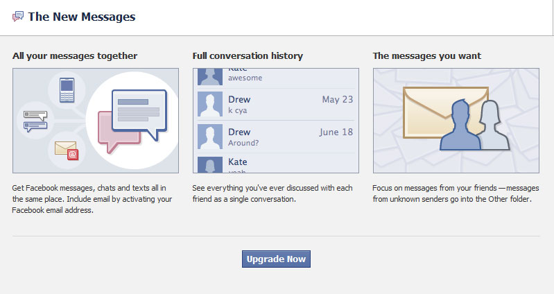 Facebook's New Messaging Email System |How to Set it Up