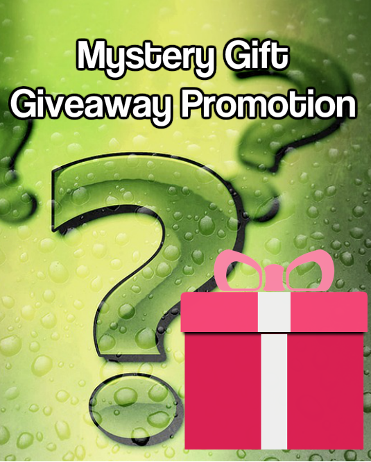 Mystery Gift giveaway promotion post image